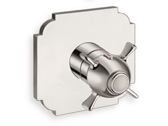 Miscelatore per doccia termostatico con piastra con piastraXC 700 - CRISTINA