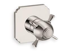 Miscelatore per doccia monocomando con piastraXC 720 - CRISTINA