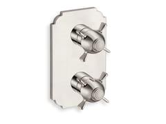 Miscelatore per doccia termostatico con piastraXC 752 - CRISTINA