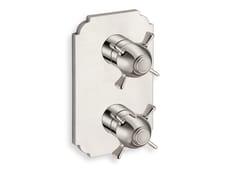 Miscelatore per doccia termostatico con piastraXC 753 - CRISTINA