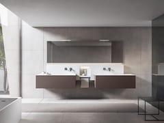 Mobile lavabo doppio con specchioXFLY 01 - BMT