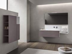 Mobile lavabo sospeso con specchioXFLY 05 - BMT