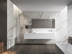 Mobile lavabo sospeso con specchioXFLY 06 - BMT