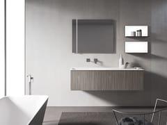 Mobile lavabo sospeso con specchioXFLY 08 - BMT