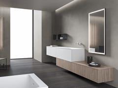 Mobile lavabo sospeso con specchioXFLY 11 - BMT