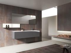 Mobile lavabo sospeso con specchioXFLY 12 - BMT