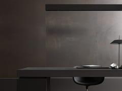 Pavimento/rivestimento in gres porcellanato effetto metallo XLIGHT ARCAN DARK - XLIGHT 6mm - Pavimenti e rivestimenti