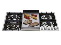 Piano cottura a gas in acciaio inoxXLP90F | Piano cottura - ILVE