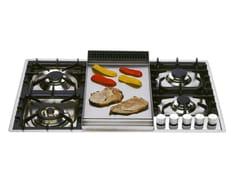 Piano cottura a gas in acciaio inoxXLPT90FD | Piano cottura - ILVE
