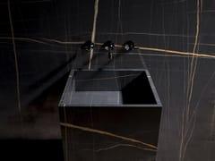 Pavimento/rivestimento in gres porcellanato effetto marmoXTONE - NYLO NOIR - PORCELANOSA GRUPO