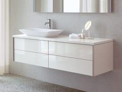 Mobile lavabo laccato sospeso con cassetti XVIU | Mobile lavabo sospeso - XViu