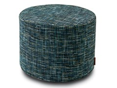 Pouf cilindro in tessuto jacquardYAKIMA | Pouf - MHOME