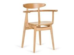 Sedia in faggio con braccioliYESTERDAY B 4100 - PAGED MEBLE