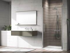Box doccia a nicchia con porta a battenteYOUNG | 1B - NOVELLINI