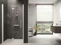 Box doccia angolare con porta a soffiettoYOUNG | 1BS - NOVELLINI