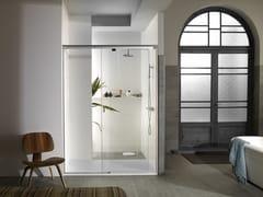 KRION, YOVE 9 Box doccia rettangolare in vetro