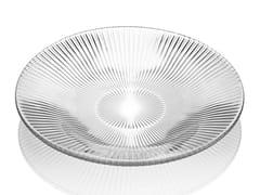 Piatto fondo rotondo in vetro decoratoZ H&T ISHTAR | Piatto fondo - INDUSTRIA VETRARIA VALDARNESE