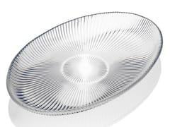 Vassoio ovale in vetro decoratoZ H&T ISHTAR | Vassoio ovale - INDUSTRIA VETRARIA VALDARNESE