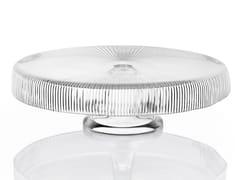 Vassoio rotondo in vetro decoratoZ H&T ISHTAR | Vassoio rotondo - INDUSTRIA VETRARIA VALDARNESE