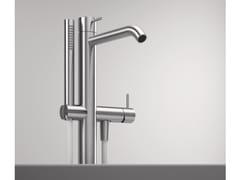Miscelatore per vasca da terra con doccetta Z316 | Miscelatore per vasca da terra - Z316