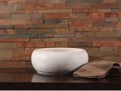 Rivestimento tridimensionale in pietra naturale per interni/esterniRUSTIC SLATE - STONE AGE PVT. LTD.