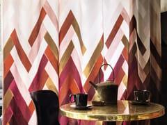 Tessuto lavabile in Trevira® CS con motivi grafici per tendeZAZOU - ÉLITIS