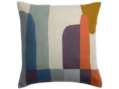 Cuscino quadrato in linoZEFF JANIS | Cuscino quadrato - VIVARAISE