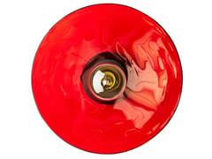 Lampada da parete fatta a mano in vetro termoformatoZENITH ACID | Lampada da parete - RADAR INTERIOR