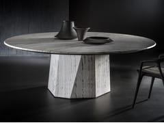 Tavolo rotondo in pietraZENITH STONE - H-07