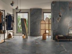 Panaria Ceramica, ZERO.3 STONE TRACE - HOLLOW Pavimento/rivestimento in gres porcellanato effetto pietra