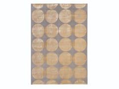 Tappeto fatto a mano in lana e seta a motivi geometriciZERO | Tappeto a motivi geometrici - TURRI