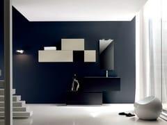 Sistema bagno componibile ZERO4 LAMINAM - COMPOSIZIONE 10 - Zero 4