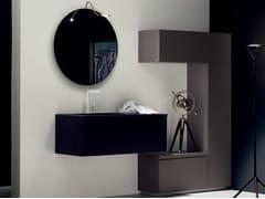 Sistema bagno componibileZERO4 LAMINAM - COMPOSIZIONE 11 - ARCOM