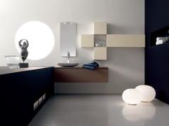 Sistema bagno componibile ZERO4 LAMINAM - COMPOSIZIONE 9 - Zero 4