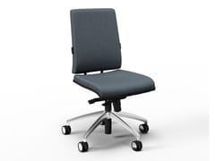 Sedia ufficio ad altezza regolabile in tessuto a 5 razze con ruoteZERO7 ELEGANT   Sedia ufficio - FANTONI