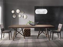 Tavolo allungabile rettangolare ZEUS | Tavolo in legno massello -