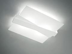 Plafoniera a LED in vetroZIG ZAG_S - LINEA LIGHT GROUP
