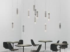 Lampada a sospensione a LED in cotto ZOE 12 - Luce