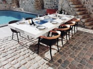 Dekton® table with warming module AGATHE   Table by Aurehum