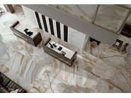 Wall/floor tiles with marble effect ALABASTRI DI REX by Rex