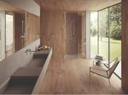 Porcelain stoneware wall/floor tiles with wood effect ALTER NOCE by Provenza