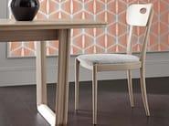 Sedia in legno con schienale aperto AMARCORD DAY | Sedia in legno by Cantiero