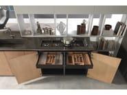 Cucina Componibile In Rovere Con Isola Andromeda Cucina In Rovere Floritelli Cucine