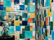 ARGENTARIO Mosaico in terracotta smaltata a mano