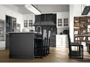 Cucina componibile in stile moderno con isola con maniglie Artis by Marchi Cucine
