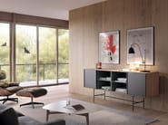 Lacquered wooden sideboard AURA   Sideboard by TREKU