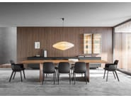 Rectangular wooden table AVA | Table by Molteni & C.
