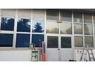 Pellicola per vetri a controllo solare antigraffio adesiva