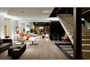 Porcelain stoneware wall/floor tiles with stone effect BACK2BACK BEIGE by Ergon