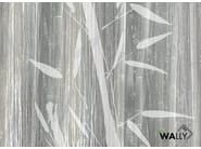 Motif fire retardant washable nonwoven wallpaper BAMBOES by WALLYART